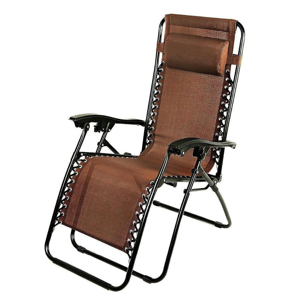 Naturefun Zero Gravity Recliner Lounge Patio Pool Chair Outdoor Folding  Chair All Weatherproof Black In Garden Chairs From Furniture On  Aliexpress.com ...