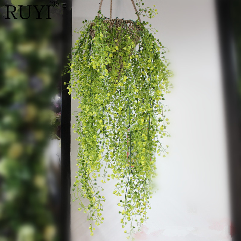 Green Hanging Plant Artificial Plant Mini Flower Willow