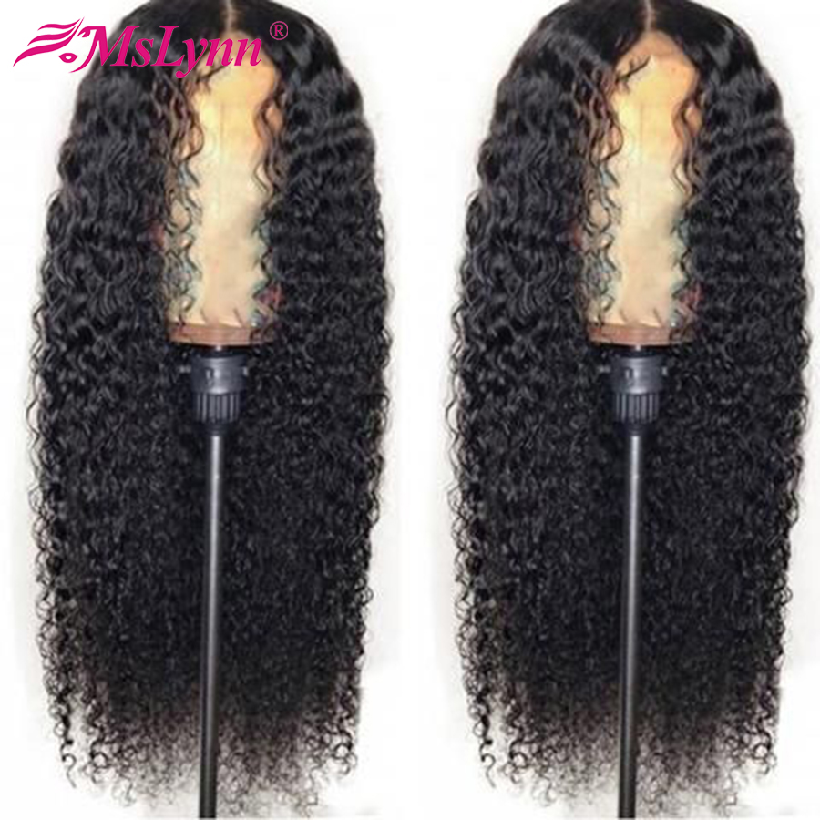 13x4 Deep Wave Lace Front Human Hair Wigs Pre Plucked With Baby Hair Peruvian Lace Wig
