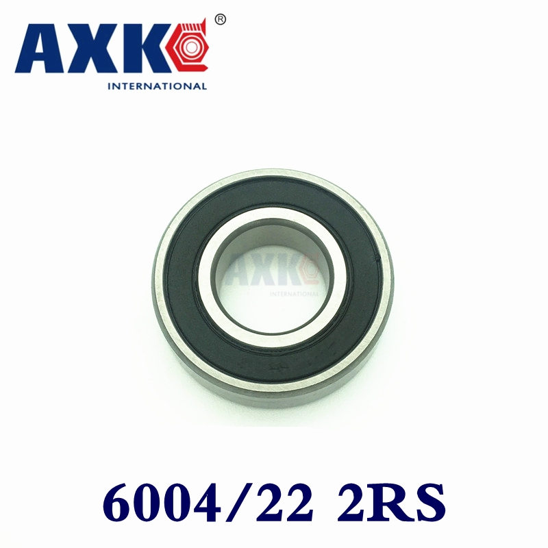2018 Time-limited Sale Axk Excavator Bearing 6004/22-2rs 60/22-2rs 22*42*12mm Double Shielded Deep Ball Bearings Large Breadth 10pcs 688zz double shielded ball bearings 8x16x5mm metal miniature ball bearing for harware accessories