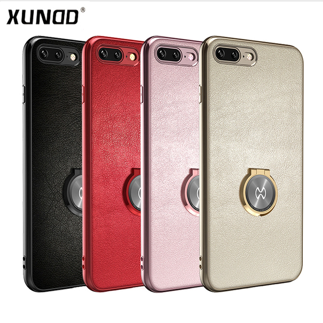 Xundd Luxury Leather Case For Iphone 8 8 Plus Case Magic Magnetic