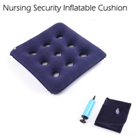 Red Cushion Anti Bedsore Cushion 9 Hole Medical Wheelchair Side Air Mattress Cushion Genuine Care Products