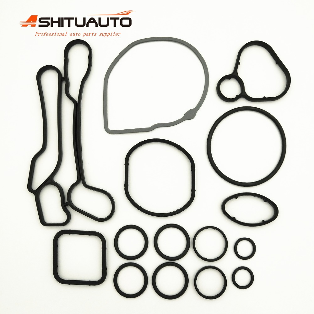 AshituAuto High Quality Oil Cooler Repair Kits Gaskets For