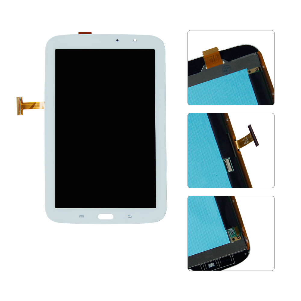 For Samsung Galaxy Note 8 GT- N5100 N5110 Touch Screen Digitizer Panel Glass LCD Display Panel Monitor Assembly full lcd display touch screen digitizer frame for samsung galaxy note 3 gt n9005 n9005 black white