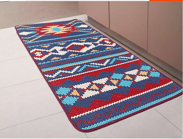 Novelty Iber Door Mat Rug Porch Patio Floor Decor Living Room Carpet Indian Geometric Aztec Trible Pattern 50x120cm In From Home Garden On