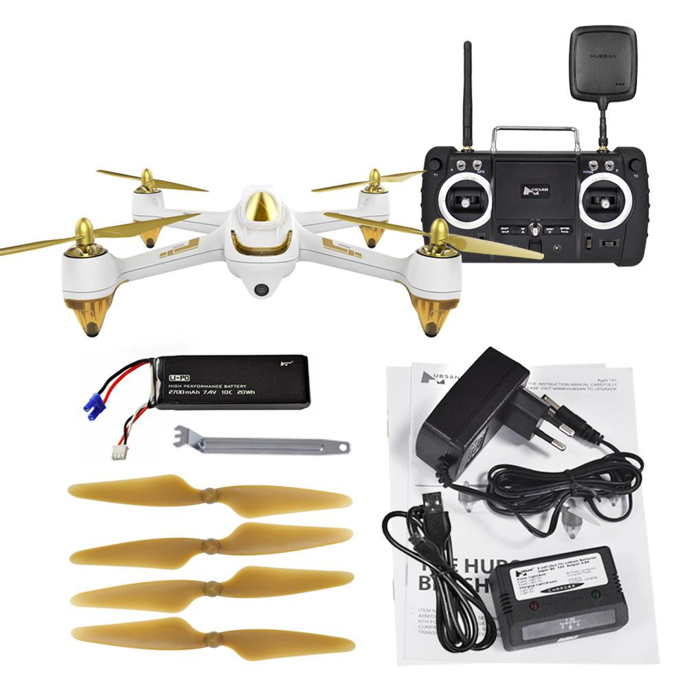 Hubsan H501S H501SS X4 Pro 5.8G FPV Brushless With 1080P HD Camera GPS RTF Follow Me Mode Quadcopter Helicopter RC Drone D50 7 4v 2700mah 10c battery 1 in 3 cable usb charger set for hubsan h501s h501c x4 rc quadcopter