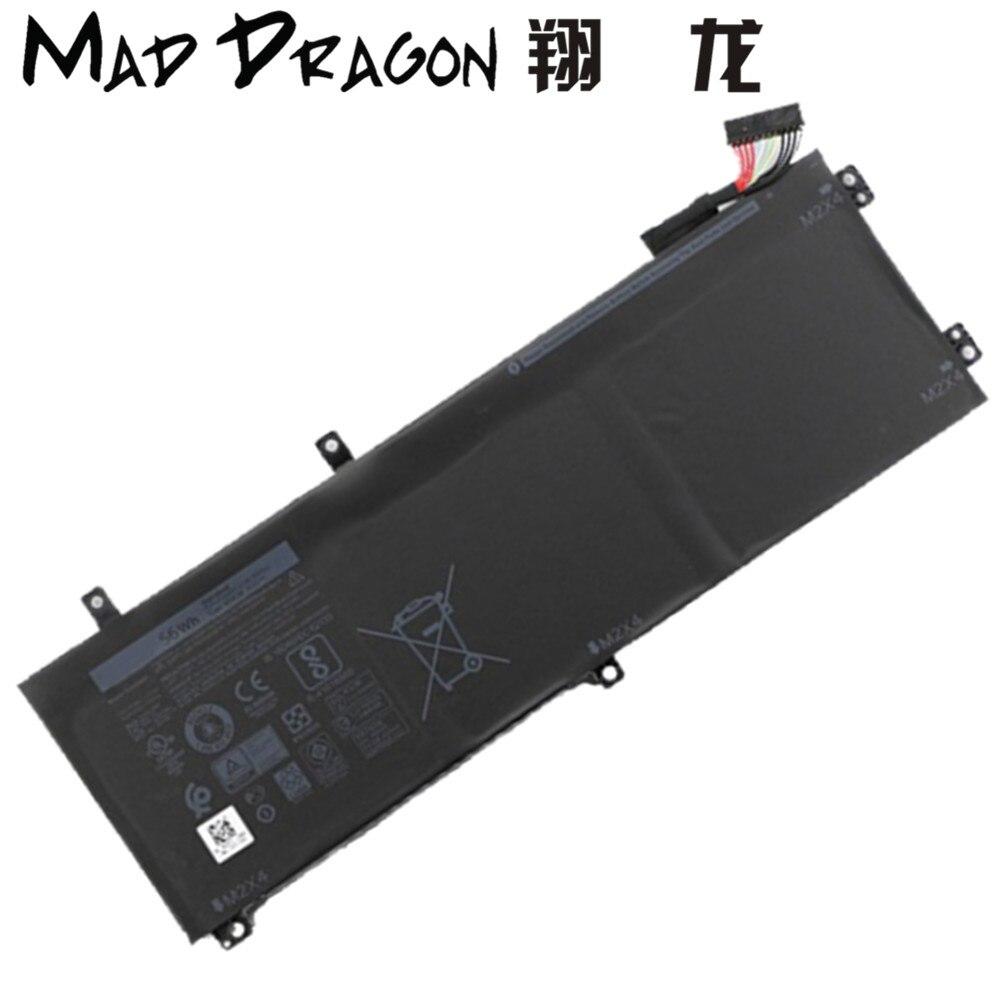 MAD DRAGON новый ноутбук литиевая батарея для Dell Precision 9550 5530 5510/XPS15 9570 9560 5520 56Whr 05D91C 5D91C