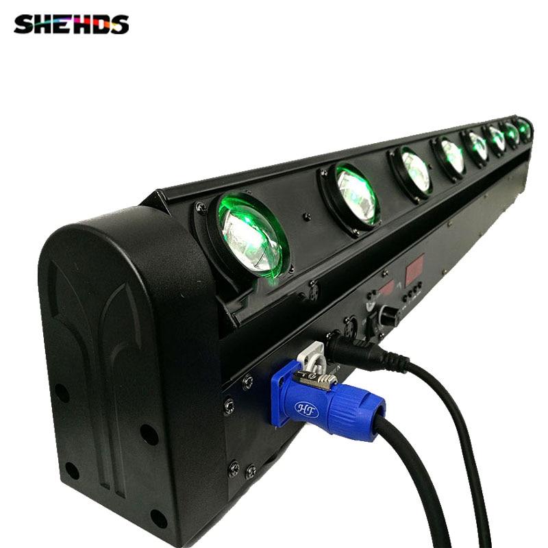 HOT Sale Perfect LED Beam Moving Head Light Sound Bar 8x12W RGBW Stage Lighting DMX512 DJ Equipment free&fast shipping цены
