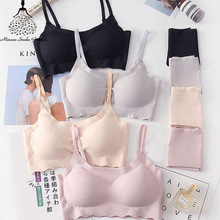 US $4.74 5% OFF|Seamless Bra Set For Women Underwear Push Up Lingerie Set Wire Free Bra And Panty Set Plus Size S M L XL Size Intimates Female-in Bra & Brief Sets from Underwear & Sleepwears on AliExpress