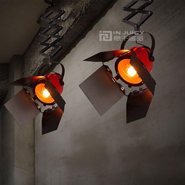 Loft Vintage Amerikaanse Stretch Hanger Lichtpunt Cafe Bar DropLight ...
