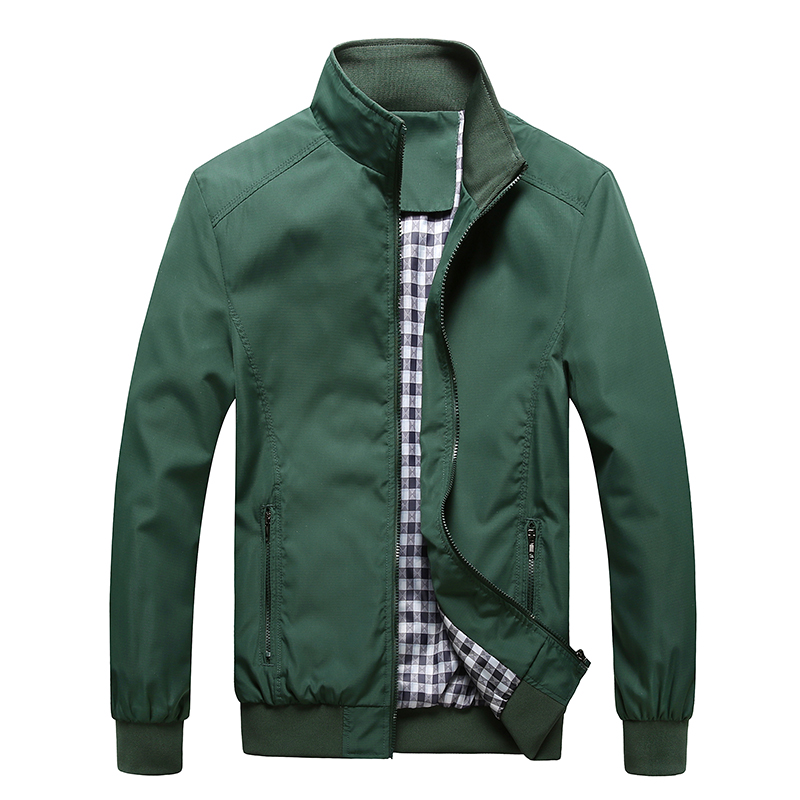 Jacket Men Fashion Casual Loose  Mens Jacket 1