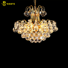 2017 Luxury Crystal Chandelier Living Room Lamp lustres de cristal indoor Lights Crystal Pendants For Chandeliers Free shipping