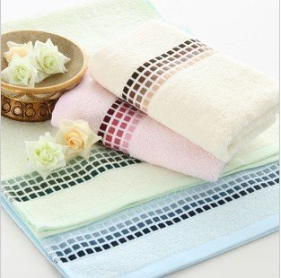Free shipping ! Wholesale  34*72cm 5pcs/lot 100% Bamboo Fiber Absorbent Soft Towel ,Face Cloths,Washer Towel,Hand Towel