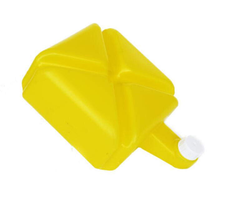 Yuenhoang 5KG/10KG/15KG Pesticide Box Container Farm Chemicals Plastic Yellow Spraying System Accessaries Plant Protection 6951 plastic magic drawer box yellow