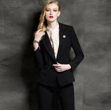 Women Evening Pant Suits Women Suit Western Style Jacket + Pants High-end Custom Ol Professional Ladies Haute Couture Suits