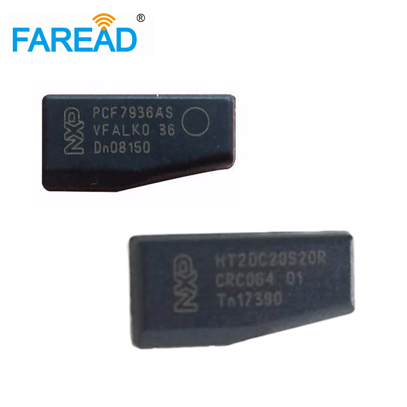 X100pcs Car Key Chip PCF7936 / PCF7936AS/AA ID46 Transponder Chip