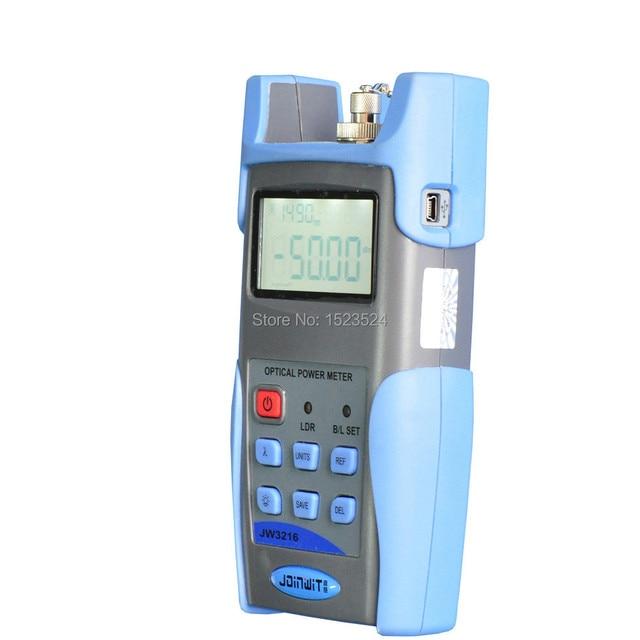 High Precision USB Port  Data Storage JW3216A -70+6dBm Handheld Fiber Optical Power Meter