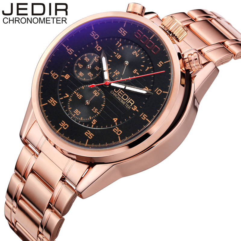 JEDIR New Pilot Mens Chronograph Wrist Watch Waterproof Date Top Luxury Brand Stainless Steel Diver Males Sports Quartz Clock new forcummins insite date unlock proramm