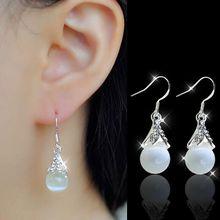 CHENFAN Japan and South Korea ear nails temperament long jewelry fashion simple cat eye women earrings 2019