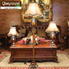 Qiseyuncai European Style Living Room Floor Lamp Creative Fashion Floor Lamp Simple Modern Bedroom Study Bedside