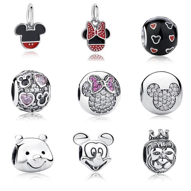 Pandora Style Disney Charm Beads
