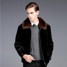 Fur lined mens suit, mink coat, lapel, fur grass, coat