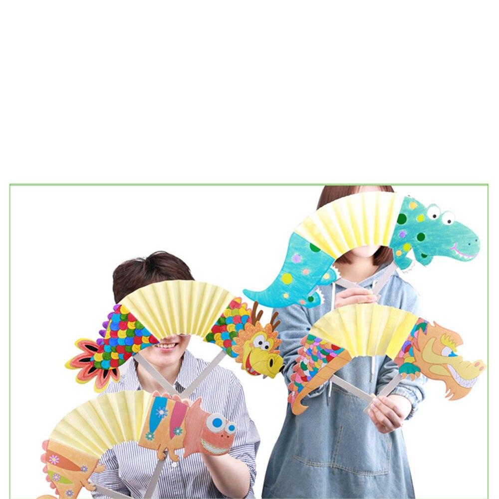 Китайский стиль Дракон Китайский дракон танец Дракон танцевальная игрушка оригами представление интересный интерактивный DIY обучения культуры