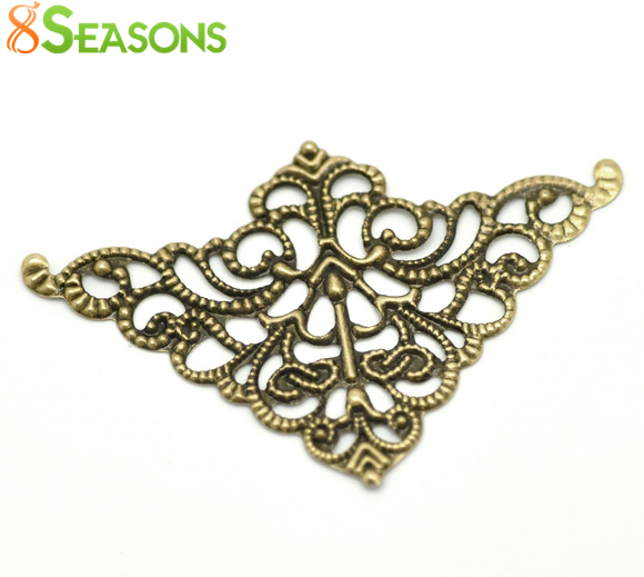 8seasons-antique-bronze-filigree-triangle-wraps-connectors-5cm-x-32cm2x1-1-fontb4-b-font-sold-per-lo