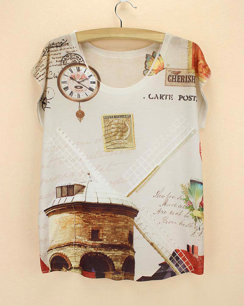 Design t shirt sell - Top Selling Women S T Shirt Low Price 2015 New Summer Fashion Tops America Europe Design Ladies T Shirt Novelty Whosale Price