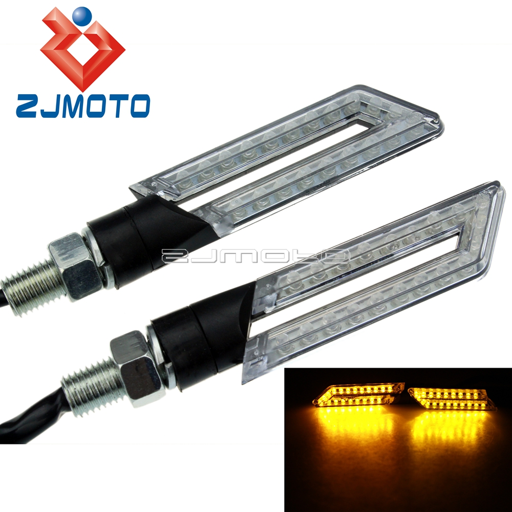 LED Turn Signals Lights Lamp Indicators Blinker Flashers For Kawasaki ZX-6R 10R Versys 650 ER6N Z1000 Z800 Z750 Z250 ZZR400