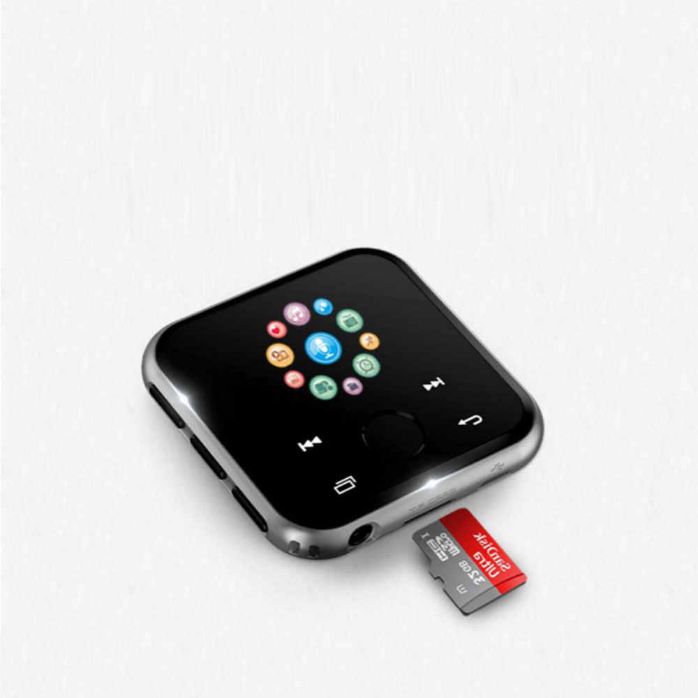 مشغل موسيقى MP3 يعمل بالبلوتوث جهاز تسجيل فيديو وراديو FM مع بطاقة TF بكتاب e-book هاي فاي بدون فقدان جودة صوت رياضية AB كرر