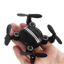 Original Helicopter Mini Foldable RC Drone Dron 2.4GHz 4CH 6-axis Gyro Quadcopter Controlled One Key Taking Off 360-degree flip