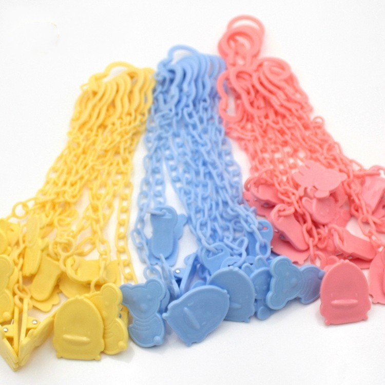 Adjust Baby Pacifier Clip Chain For Infant Feeding Dummy Clip Nipple Holder For Newborn Children Pacifier Clip Soother Holder