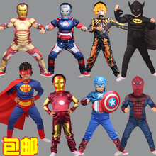 New Iron Man, Spider-Man Children Clothing Sets Boys Spiderman Cosplay Sport Suit Kids Sets jacket + pants 2pcs. Boys Clothes