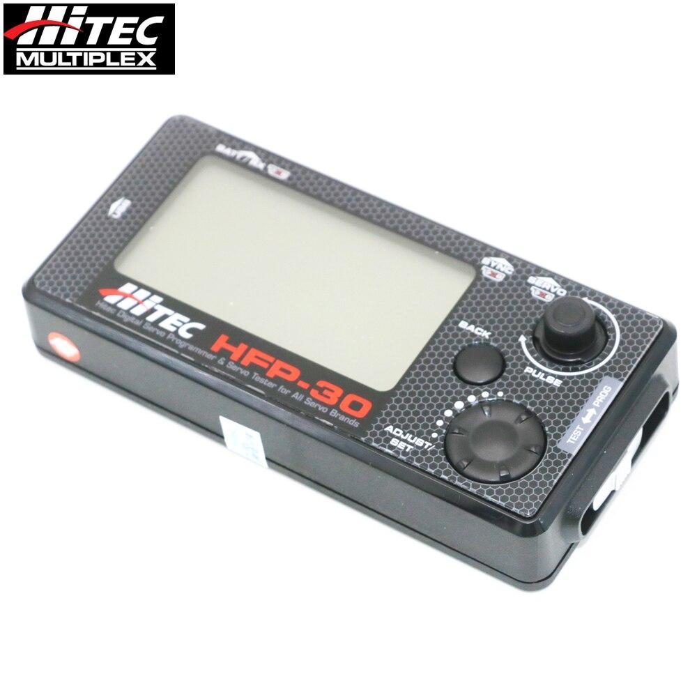 Originele Hitec HFP 30 Digitale Servo Programmeur & Servo Tester voor Alle Servo Merken upgrade HFP 25-in Onderdelen & accessoires van Speelgoed & Hobbies op  Groep 1