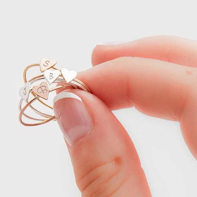 Горячая Распродажа, простые diy Кольца с декоративной надписью, регулируемые обручальные кольца для женщин, изысканные ювелирные изделия, женские обручальные кольца, аксессуары, подарок