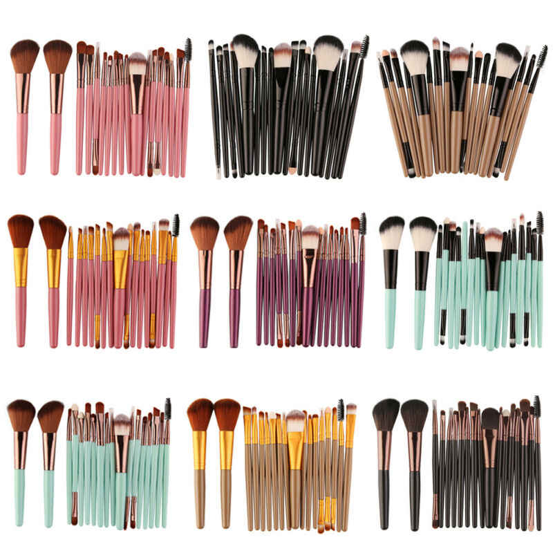 18PCS Make-up Pinsel Set 2019 Neueste Mode Make-Up Foundation Rouge Gesicht Pulver Pinsel AU