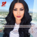Synthetic Lace Front Wig Black Color Brazilian Body Wave Hair Top Quality Heat Resistant Synthetic Lace Wigs For Black Women