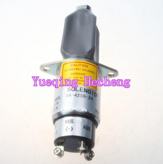 Solenoid-Stop SA-4259-24 For Generator 0307-2820-01 24VSolenoid-Stop SA-4259-24 For Generator 0307-2820-01 24V