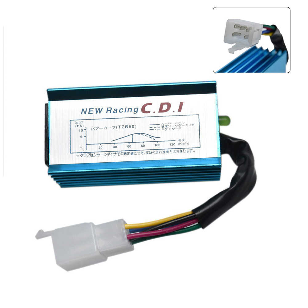 hight resolution of knight hight performance 5 pin 50 70 90 110 125cc performance racing cdi for pit bike