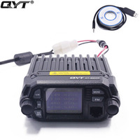 Mini Walkie Talkie QYT KT 8900D Upgraded Version Dual Band 136 174MHz 400 480MHz Mobile Radio
