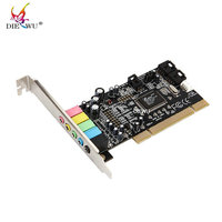 Pci Sound Card Encoding 6 Audio Sound Card Cmi8738 Computer Sound Card 5 1 Stereo