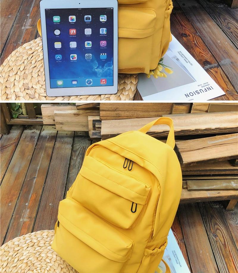 HTB12D2kKwHqK1RjSZJnq6zNLpXaA DCIMOR New Waterproof Nylon Backpack for Women Multi Pocket Travel Backpacks Female School Bag for Teenage Girls Book Mochilas