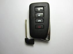 Nowy styl! 4 przyciski wymiana inteligentny zdalny klucz Shell Case dla Lexus ES350 450 jest GS RX z wkładką scyzoryk nóż Fob klucz pokrywa