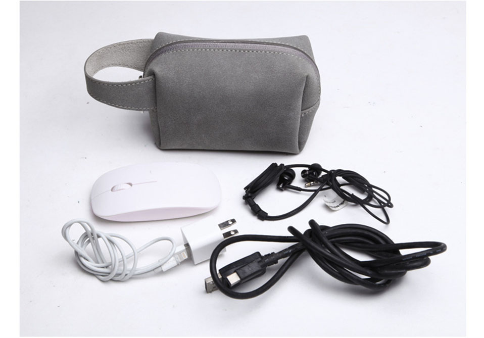 Travel Storage Portable Digital Accessories Gadget Devices Organizer USB Cable Charger Storage Case Travel Cable Organizer Bag (2)