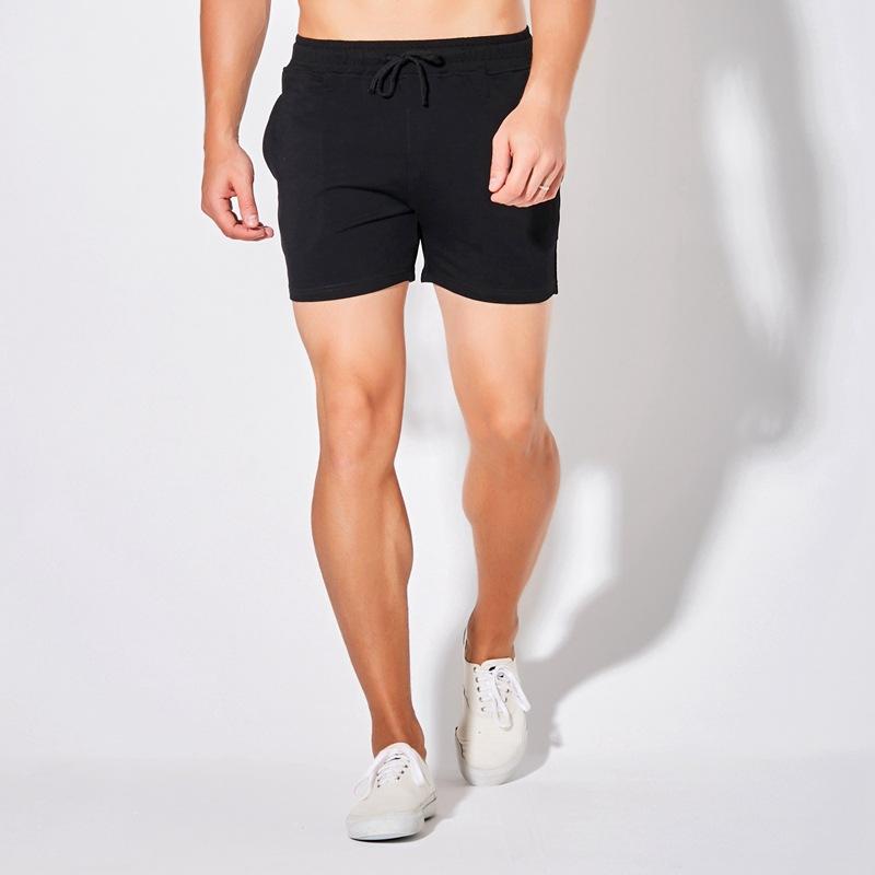Summer Men Short Shorts Male Badminton Jogger Shorts Plus Size Casual Trunks Cotton Sportswear Boys Black Fitness Running Shorts