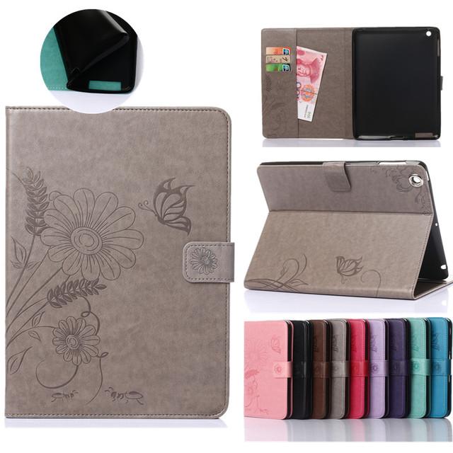 PU Leather Flip tablet Case for Apple iPad mini 4 Cases
