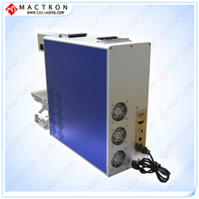 Portable 20w Fiber Laser Marking Machine For Metal,Aluminum, Gold, Silver, PE, PP, Cell Case,  Ear Tag, Rings, Pigeon rings