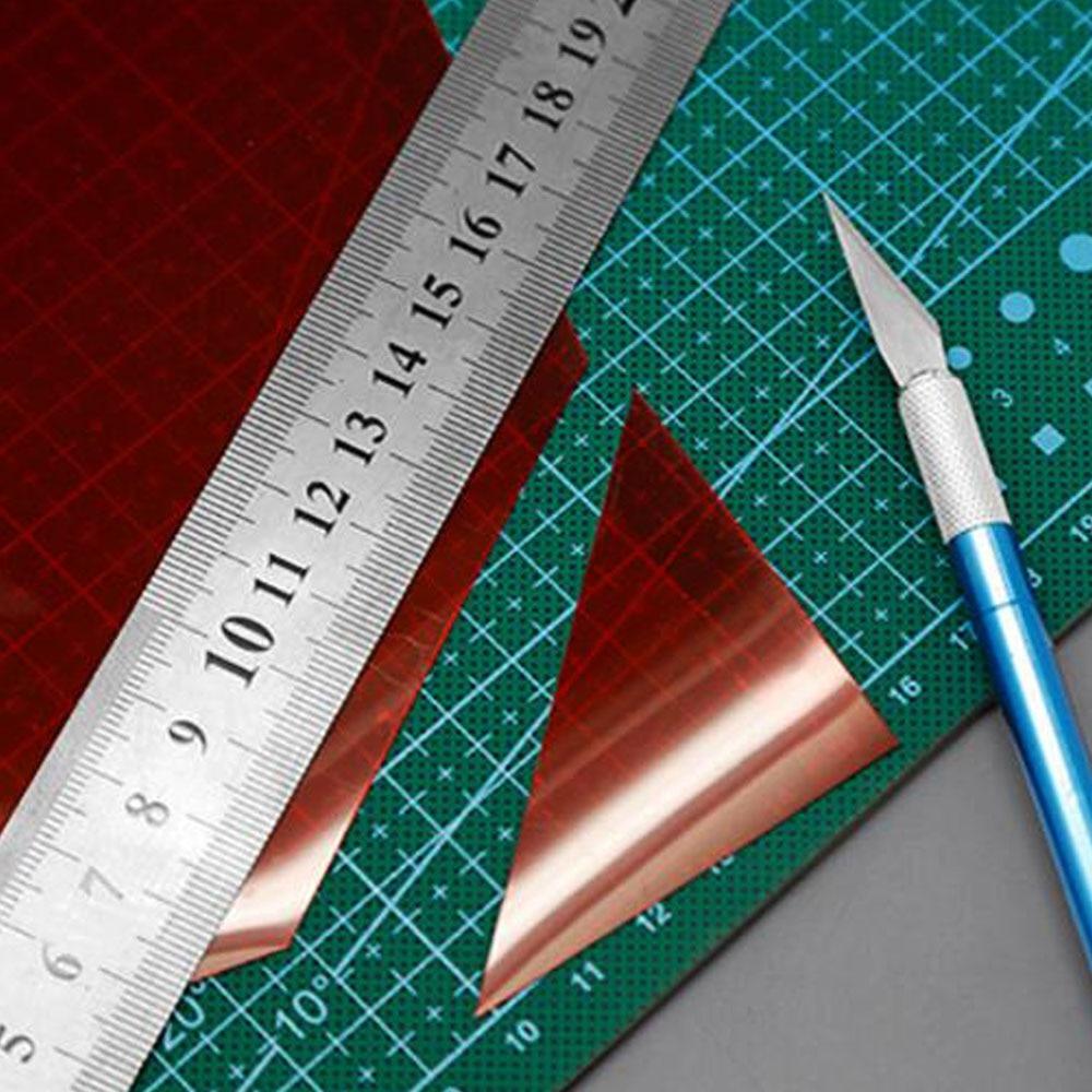 Teraysun 5PCS / LOT 0.3mm 20 * 30cm 5cols ABS пластикалық - Дизайнерлер мен құрылыс ойыншықтары - фото 5