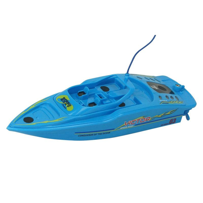 ФОТО 2pcs 4CH High Speed Radio Remote Rechargeable RC Boat Ship w/ Inflatable Pool